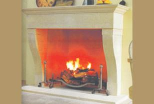 Picture of Sandstone Fireplace