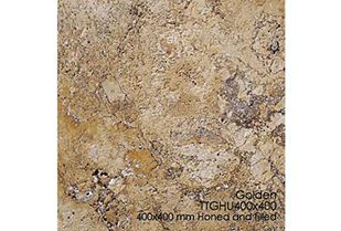 Picture of Golden Travertine Tile