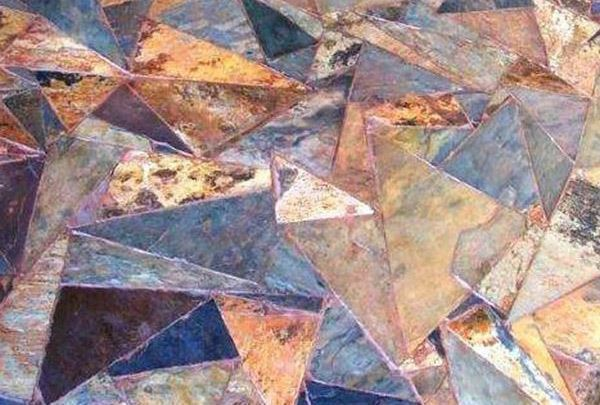 Picture of Slate Rich Autumn Triangular